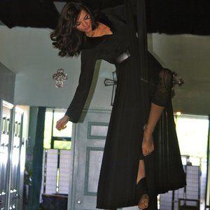 Long Black Costume Jacket/Robe